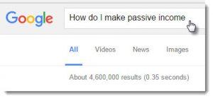 How do I make passive income?