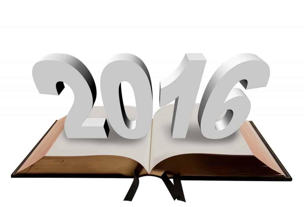 New Year Resolution 2016