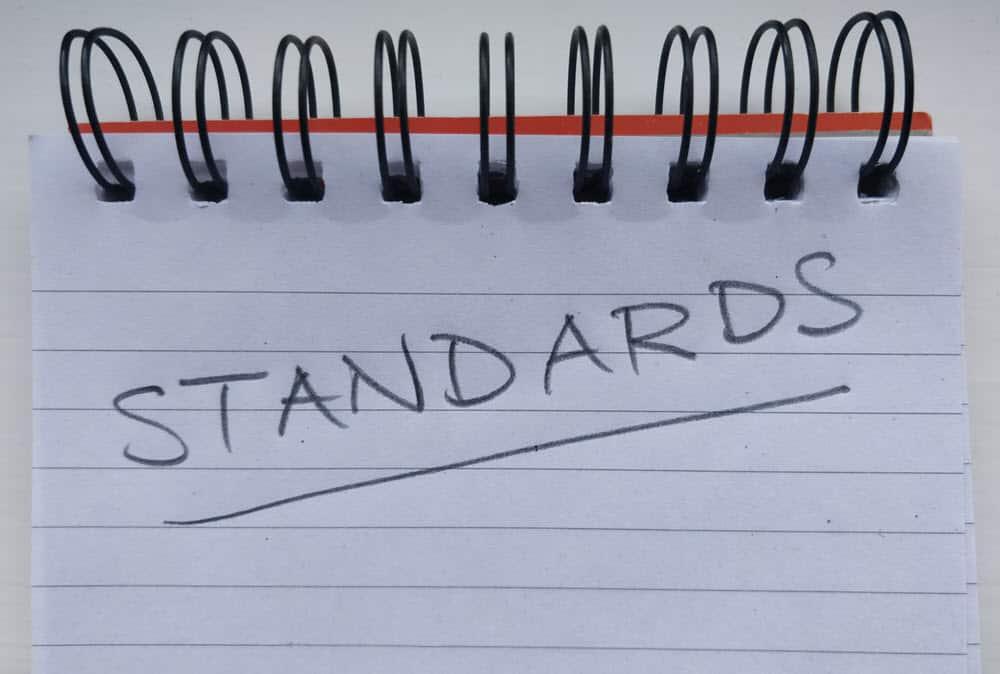 Set the standards
