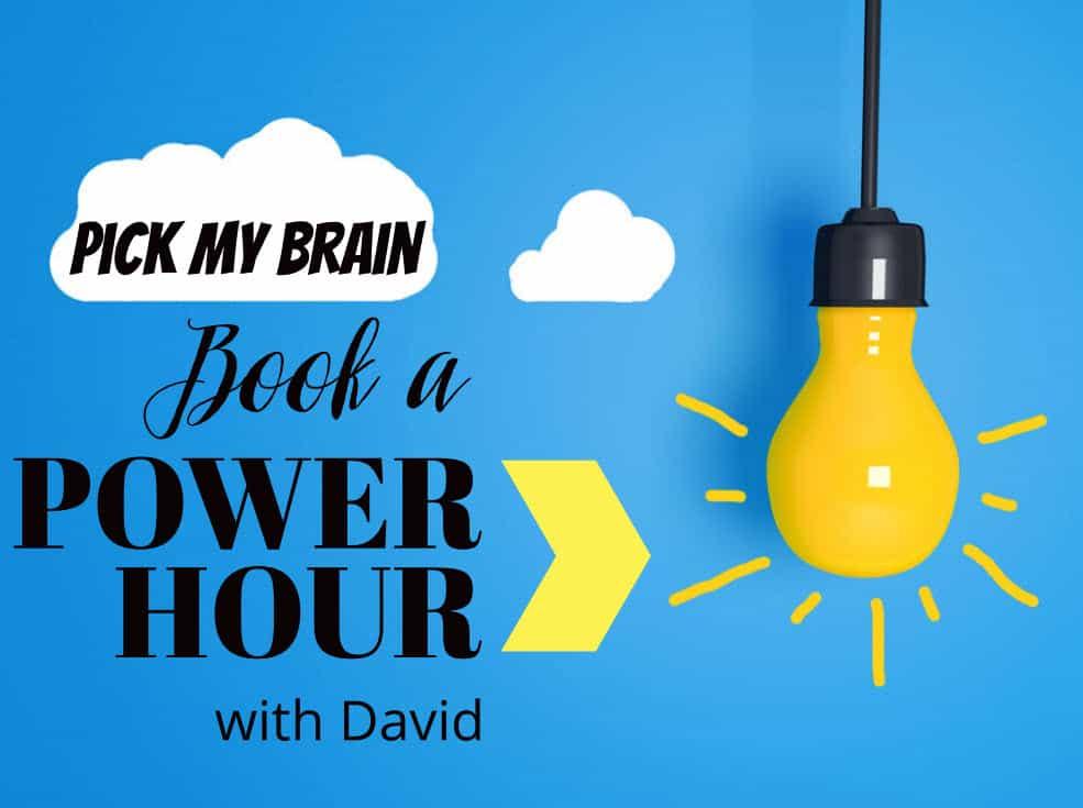 Pick David's Brain